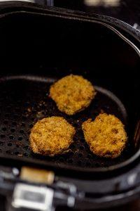 veggie nuggets in air fryer basket